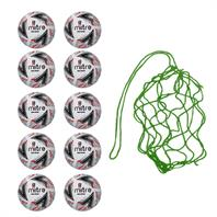 Net of 10 Mitre Delta Replica FA Cup Training Balls