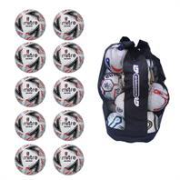 Ball Sack of 10 Mitre Delta Replica FA Cup Footballs