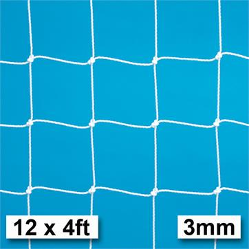 Harrod 3mm Heavy Duty Goal Nets (PAIR) (12 x 4ft) (3.66m x 1.22m)