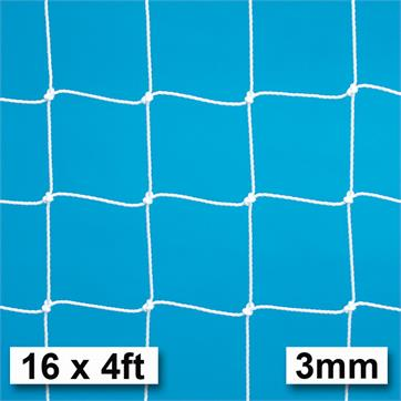 Harrod 3mm Heavy Duty Goal Nets (PAIR) (16 x 4ft) (4.88m x 1.22m)