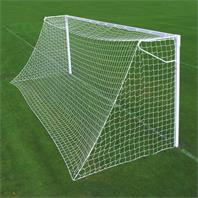 Harrod Socketed Steel Square Anti Vandal Goal Posts (24 x 8ft) with (600mm Deep Sockets)