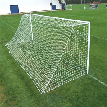 Harrod Heavyweight Socketed Steel 60mm Round Goal Posts (24 x 8ft)