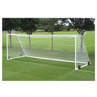 Harrod Heavyweight Freestanding Steel Goal Posts (24 x 8ft) Wheels & Nets Extra