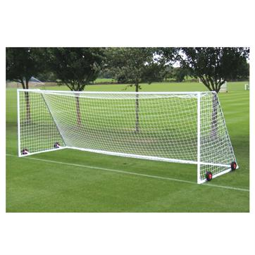 Harrod Heavyweight Freestanding Steel Goal Posts (21 x 7ft) (Pair)(Wheels & Nets Extra)