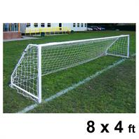 Harrod FS5 Socketed Steel Goal Posts (PAIR) (8 x 4ft)