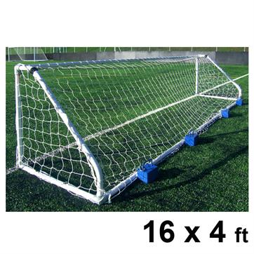 Harrod Classic Steel Goal Posts (PAIR) (16 x 4ft)