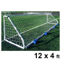 Harrod Classic Steel Goal Posts (PAIR) (12 x 4ft)