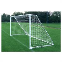 Harrod Folding Freestanding Steel Goal Posts (PAIR) (12 x 6ft)