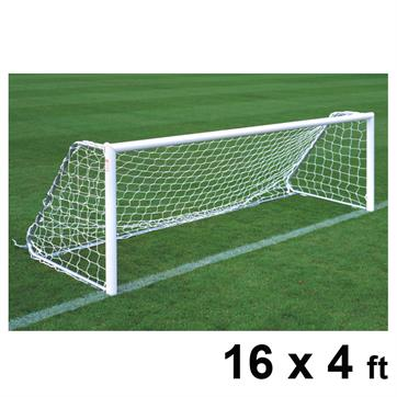 Harrod Folding Freestanding Aluminium Goal Posts (PAIR) (16 x 4ft)