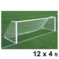 Harrod Folding Freestanding Aluminium Goal Posts (PAIR) (12 x 4ft)