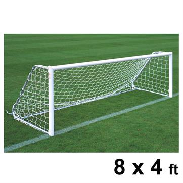 Harrod Folding Freestanding Aluminium Goal Posts (PAIR) (8 x 4ft)