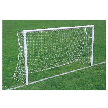 Harrod Super Heavyweight Socketed Steel Goal Posts - With Locking Sockets (16 x 6ft) (Pair)