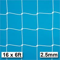 Harrod 2.5mm Socketed & Freestanding Steel Goal Nets (PAIR) (16 x 6ft)