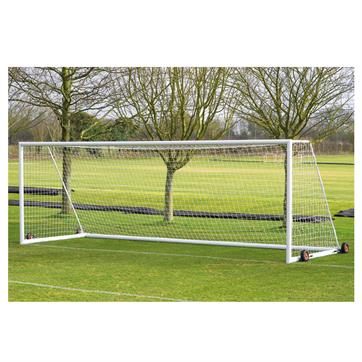 Harrod 3G Aluminium Weighted Portagoals (24 x 8ft) Includes Wheels