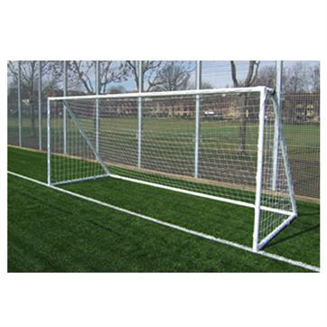 Harrod Heavy Duty Galvanised Steel Goal Posts (16 x 6ft) (Pair)