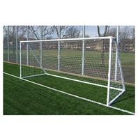 Harrod Heavy Duty Galvanised Steel Goal Posts (12 x 6ft) (Pair)