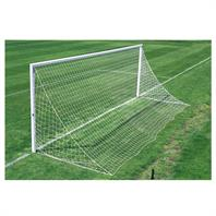 Harrod 3G Socketed Parks Aluminium Goal Posts for Quick Removal (24 x 8ft)- With Locking Lids