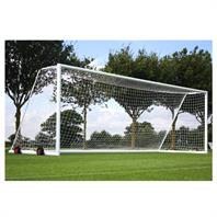 Harrod 3G Aluminium Portagoals (24 x 8ft) Wheels & Nets Extra