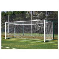 Harrod 3G Aluminium Fence Folding Goal Posts (24 x 8ft) with (2.3 - 3.5m Projection)