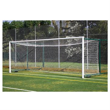 Harrod 3G Aluminium Fence Folding Goal Posts (24 x8ft) with (3.5 - 5.0m Projection)