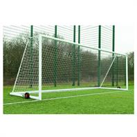 Harrod 3G 'Original' Integral Weighted Aluminium Portagoals Posts (24 x 8ft) Includes Wheels