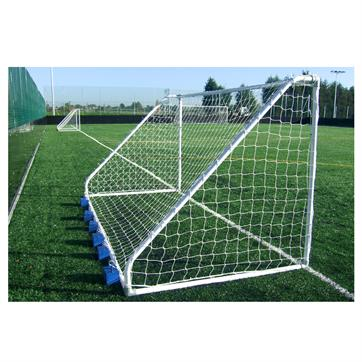 Harrod Classic Steel Mini Soccer Goal Posts (16 x 6ft) (Pair)