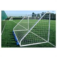 Harrod Classic Steel Mini Soccer Goal Posts (12 x 6ft) (Pair)