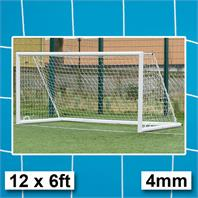 Harrod 4mm Integral Weighted Portagoals Nets (PAIR) (12 x 6ft) (3.66m x 1.83m)