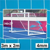 Harrod 4mm Futsal Goal Nets (3m x 2m)