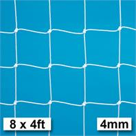 Harrod 4mm Extra Heavy Duty Integral Weighted Portagoal Nets (PAIR) (8 x 4ft) (2.44m x 1.22m)