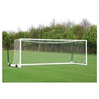 Harrod 3G Aluminium Euro Portagoals (21 x 7ft) (Pair) (Wheels & Nets Extra)