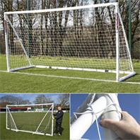 Samba Fold-a-Goal 12x6ft Football Post [4 Sizes in 1]