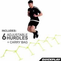 Quickplay Quick-Click Sports Hurdles X 6