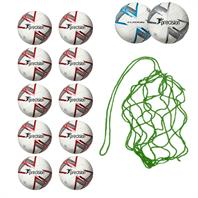 Net of 10 Precision Fusion IMS Footballs (3,4,5)