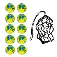 Net of 10 Precision Fusion Fluo IMS Footballs [NEW] (3,4,5)