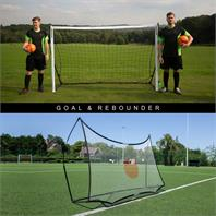 Quickplay Combo Rebounder & Goal Unit - 8x5ft