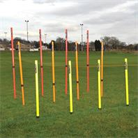 Precision Telescopic Boundary Pole Set (Set of 12)