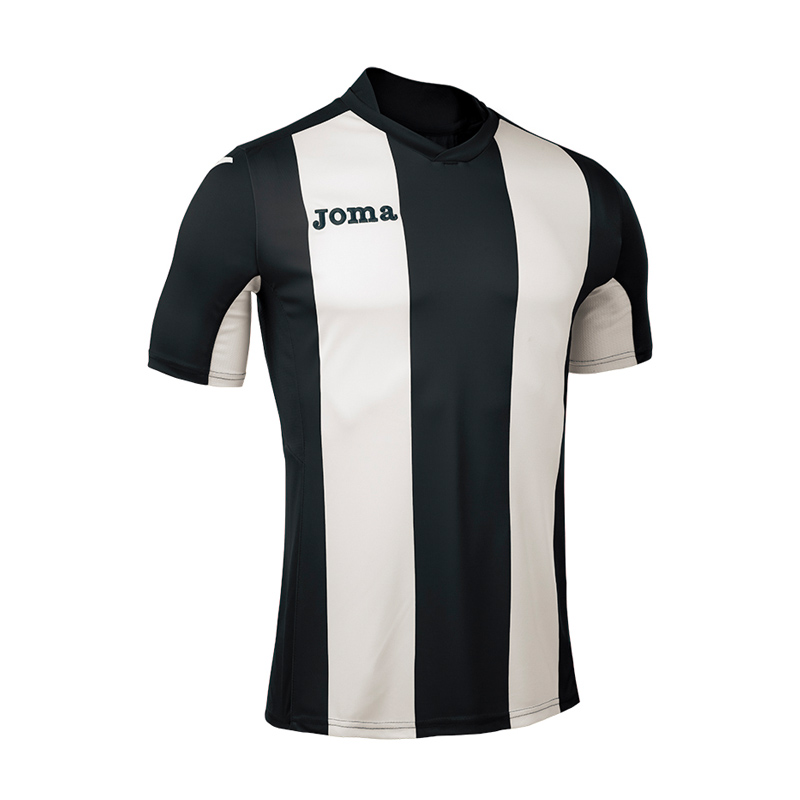 Joma Pisa Stripe Short Sleeve Shirt