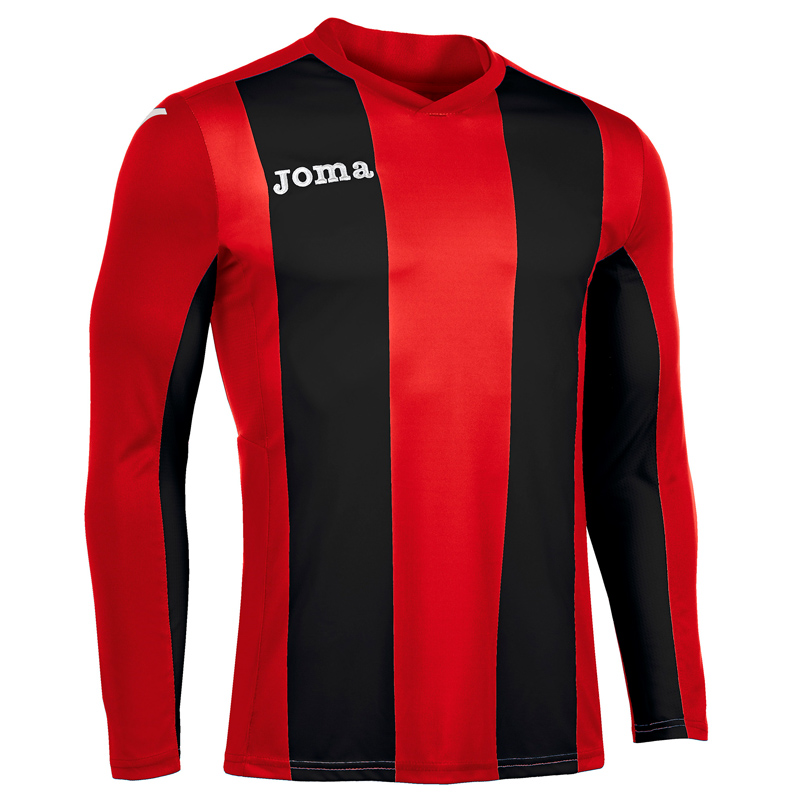 Joma Pisa Stripe Long Sleeve Shirt
