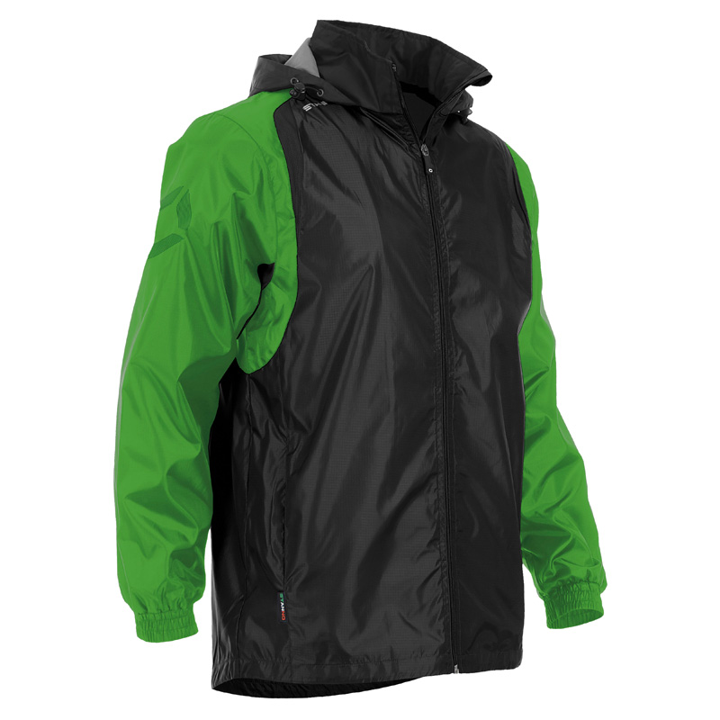 Stanno Centro Windbreaker Jacket With Cotton Jersey Lining