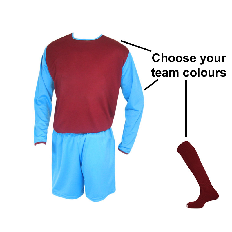 Retro LS J7 Kit Bundle (10 Shirts, Shorts & Socks)