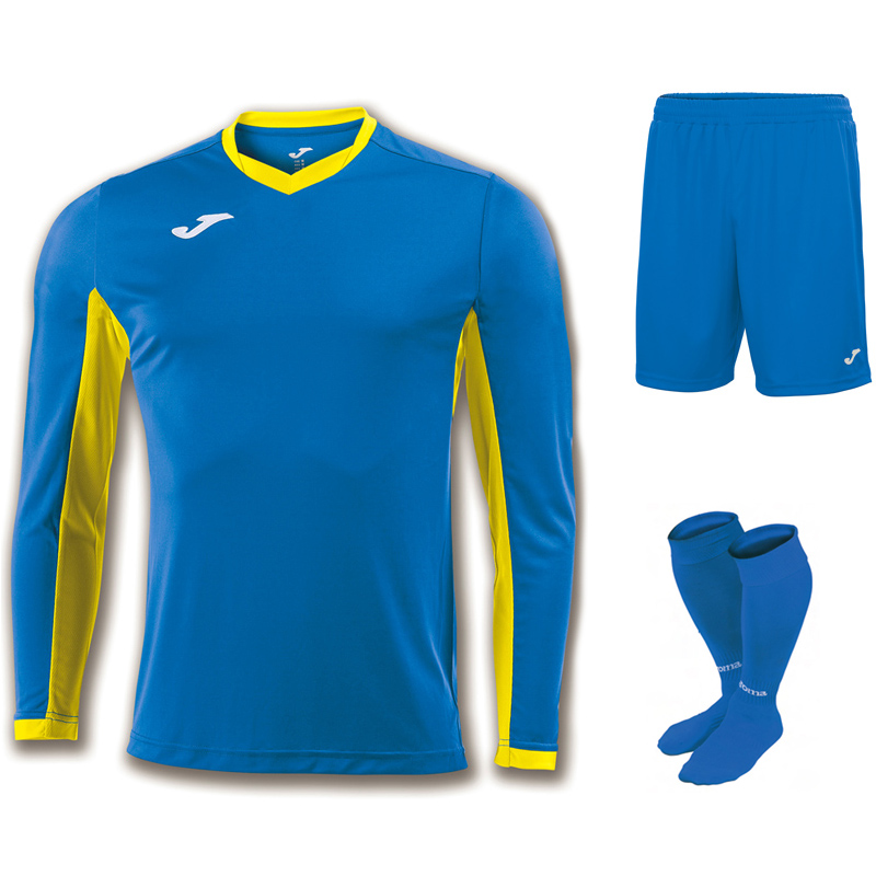 Joma Champion IV Full Kit Bundle of 15 (Long Sleeve)