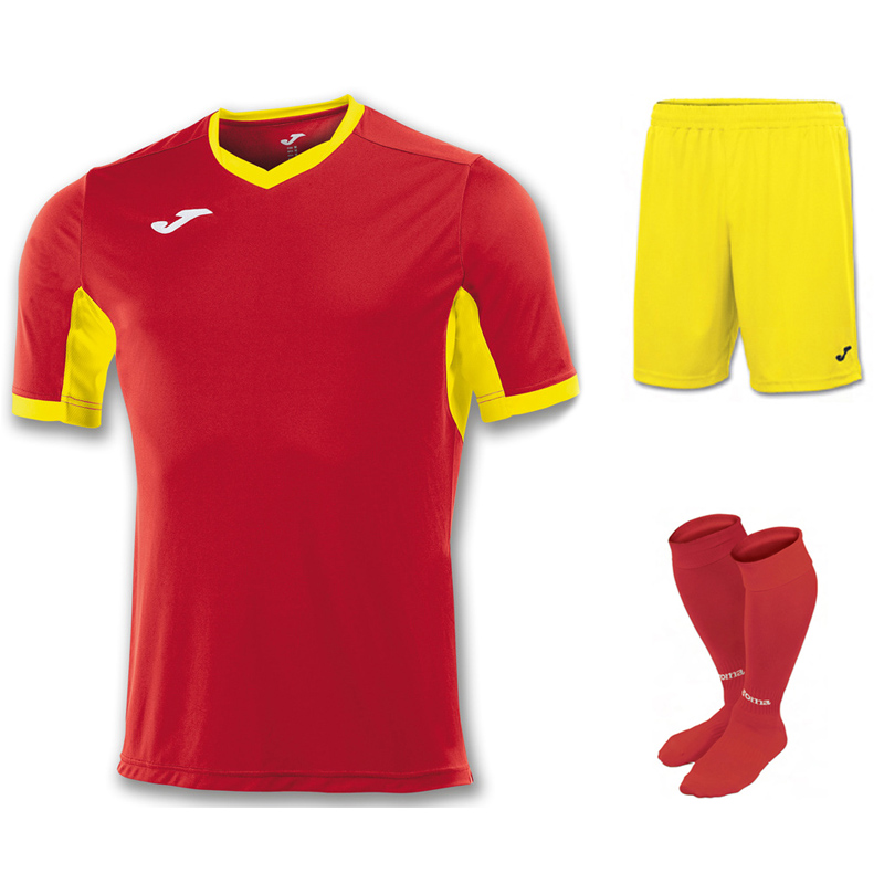 Joma Champion IV Short Sleeve Full Kit Set