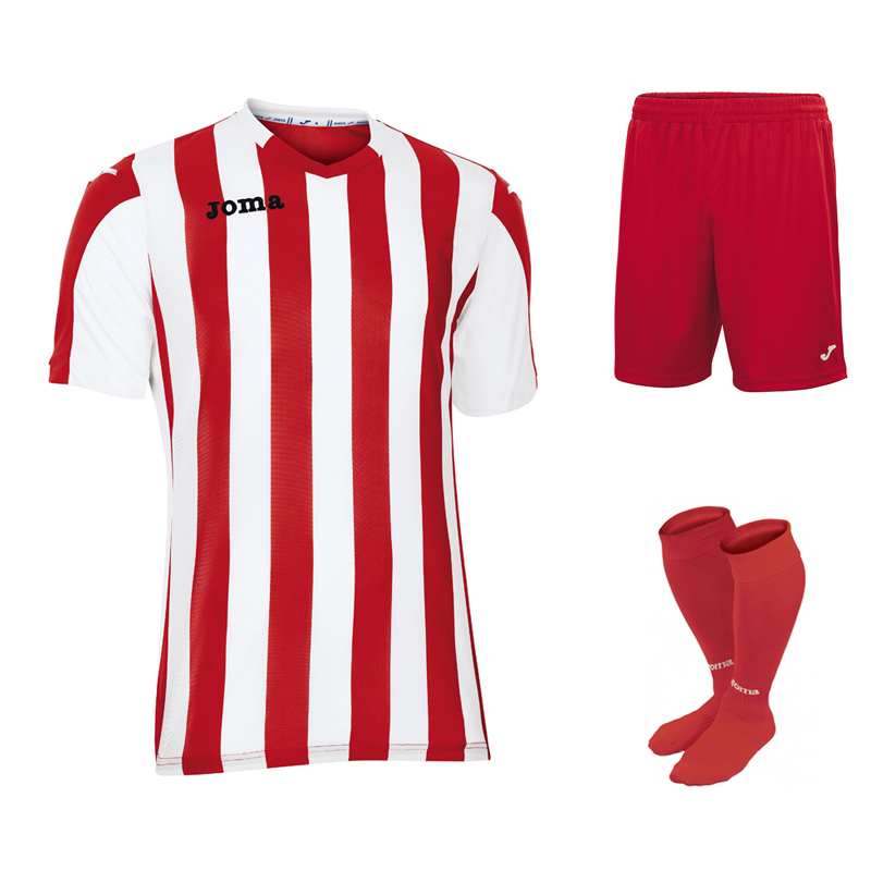 1e8af1f49 Joma Copa Stripe Full Kit Bundle of 12 (Short Sleeve) - Euro Soccer