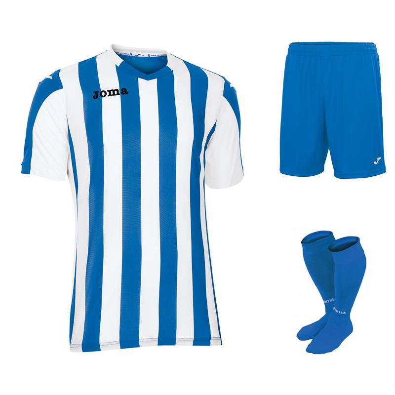 304f3ec9d9 Joma Copa Stripe Full Kit Bundle of 15 (Short Sleeve) - Euro Soccer