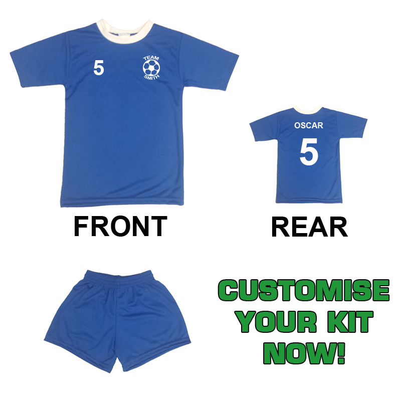 Mini Toddlers Football Kit - Shirt and Short Set