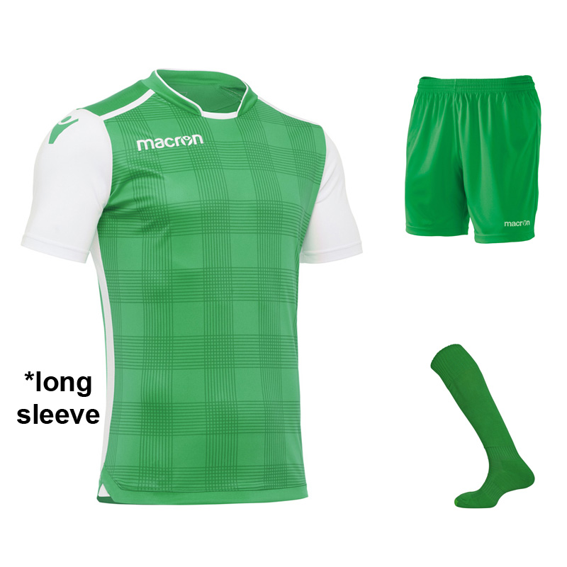 Macron Wezen Long Sleeve Full Kit Set