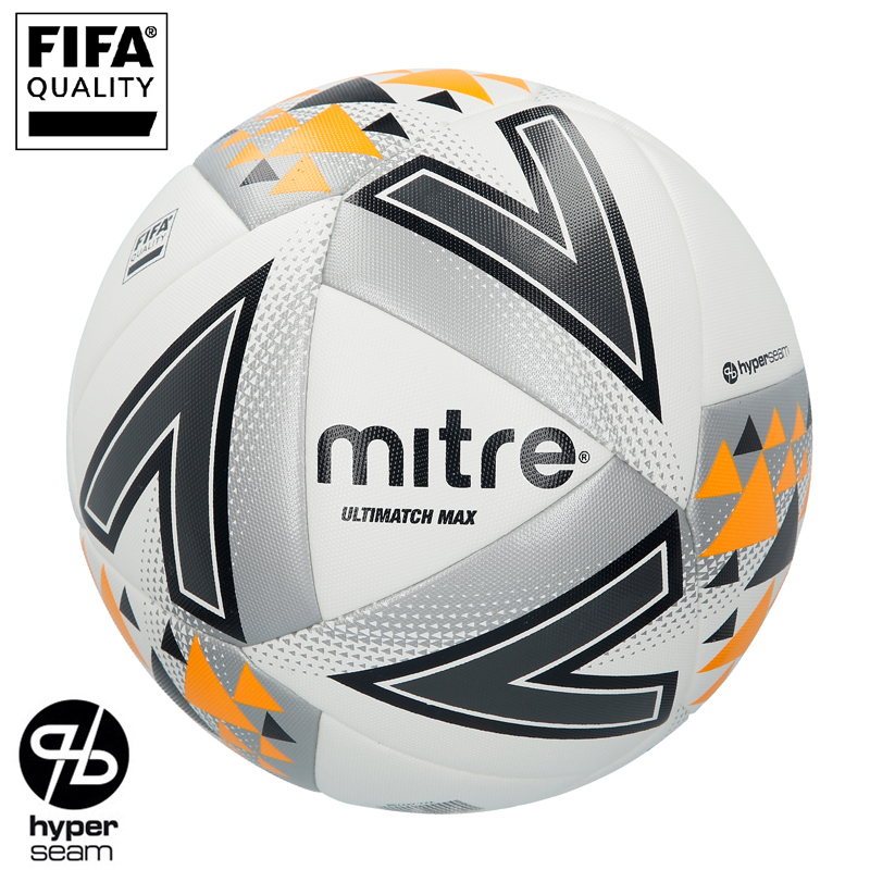 Mitre Ultimatch Max Hyperseam Match Football (4,5)