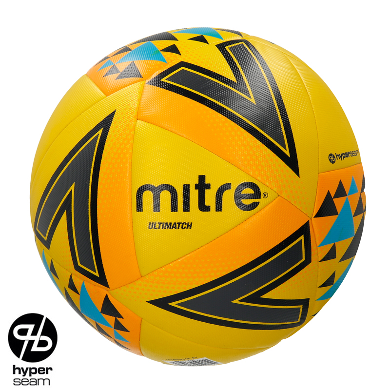 Mitre FLUO Ultimatch Core Match Football (3,4,5)