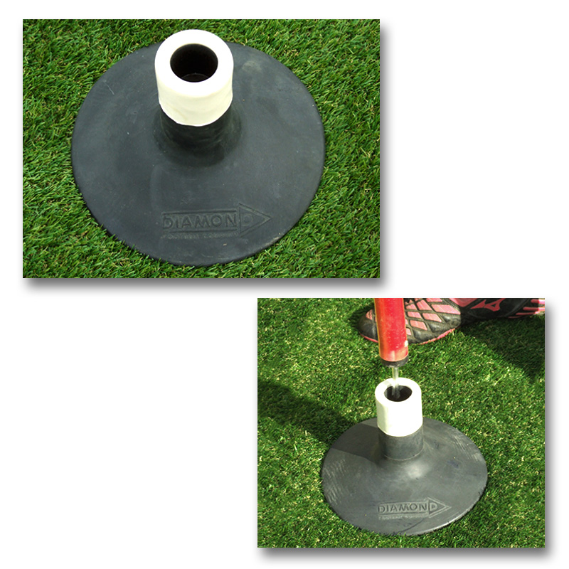 Diamond Weighted Agility Pole Base